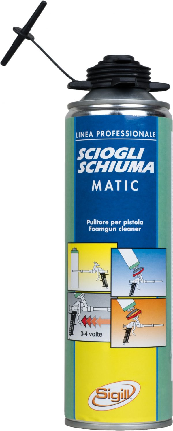 solvents for the removal of dirty residues of just-applied polyurethane foams