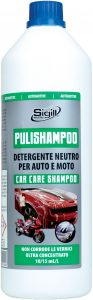 Neutral detergent shampoo for any type of vehicle