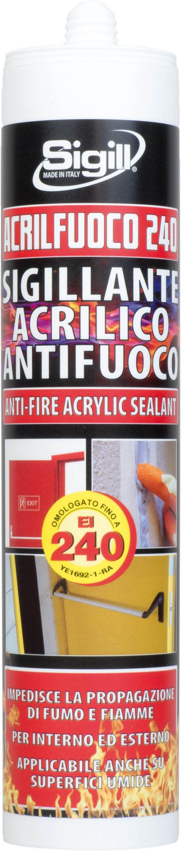 Fire-resistant acrylic sealant