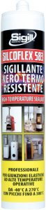 construction sealant ror seals resistant to high temperature 06222 SILCOFLEX 583