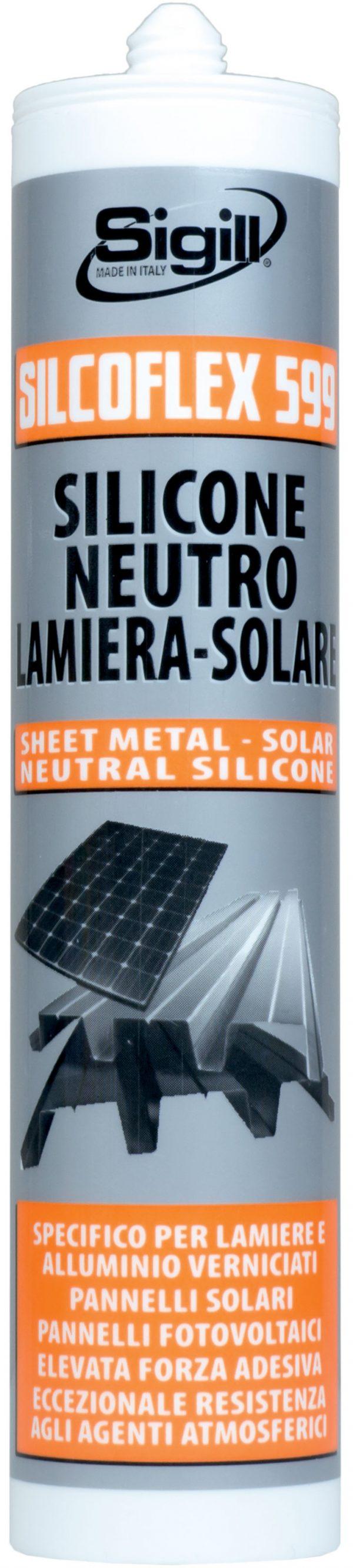construction sealant, glazing sealant, Single-component silicone sealant, SILCOFLEX 599
