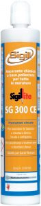 construction sealant. Two-component polyester resin with strong grip, SIGILLITE SG 300 CE