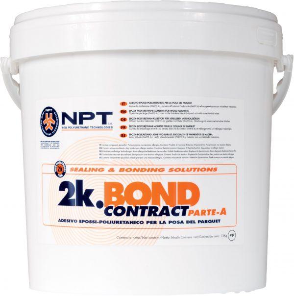 construction adhesive, wood-flooring adhesive, , two component epoxy-polyurethane adhesive, 2K-Bond Contract