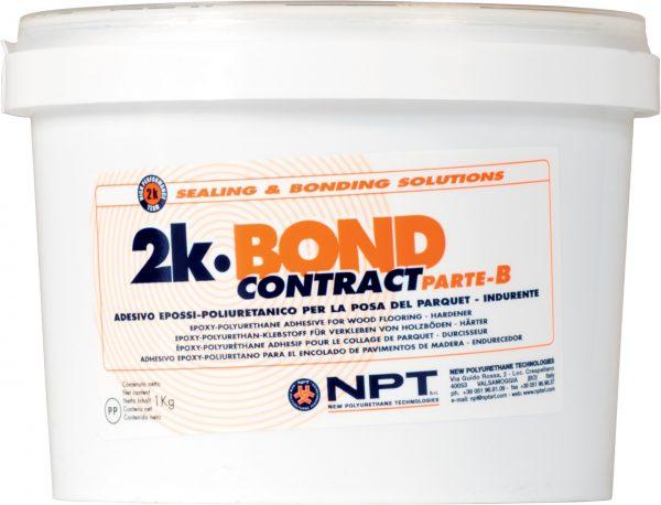 construction adhesive, wood-flooring adhesive, , two component epoxy-polyurethane adhesive, 2K-Bond Contract b