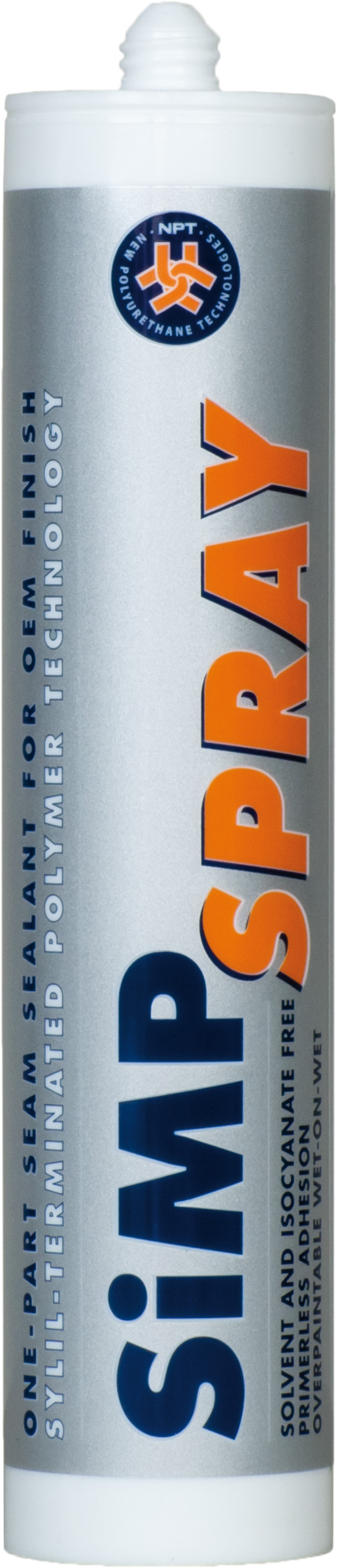 polymer adhesives, One-part hybrid polymer sprayable adhesive and sealant, SIMP SPRAY