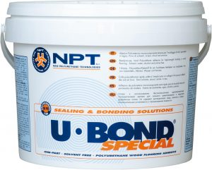 U-BOND SPECIAL, polyurethane adhesive, costruction adhesive, wood flooring adhesive