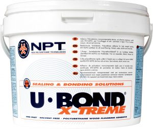construction adhesive, wood floor adhesive, polyurethane adhesiv U-BOND X-TREME