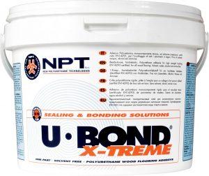 construction adhesive, wood floor adhesive, polyurethane adhesiv U-BOND X-TREME